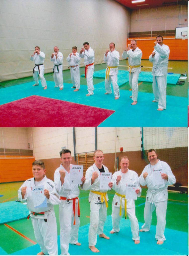 Jujutsu Prüfung Gruppenfoto