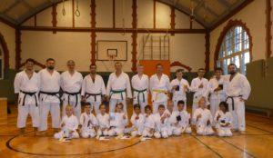 Prüfung Karate Prüfer, Trainer, Schüler