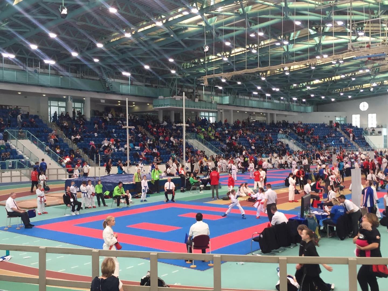 arawaza cup in Halle an der Saale internationales Karate Tunier